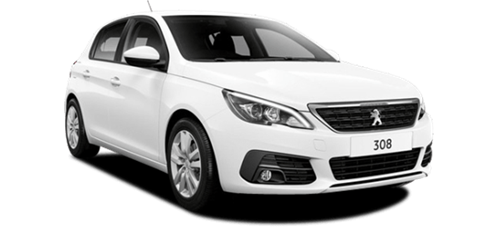 Peugeot 308 Automatic or similar