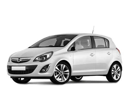 Opel Corsa 1.2cc or similar