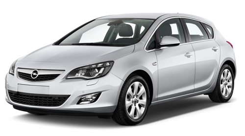 Opel Astra 1.4cc or similar
