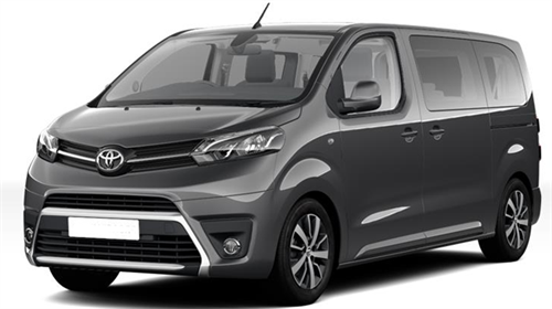 Toyota Proace Diesel 9seater